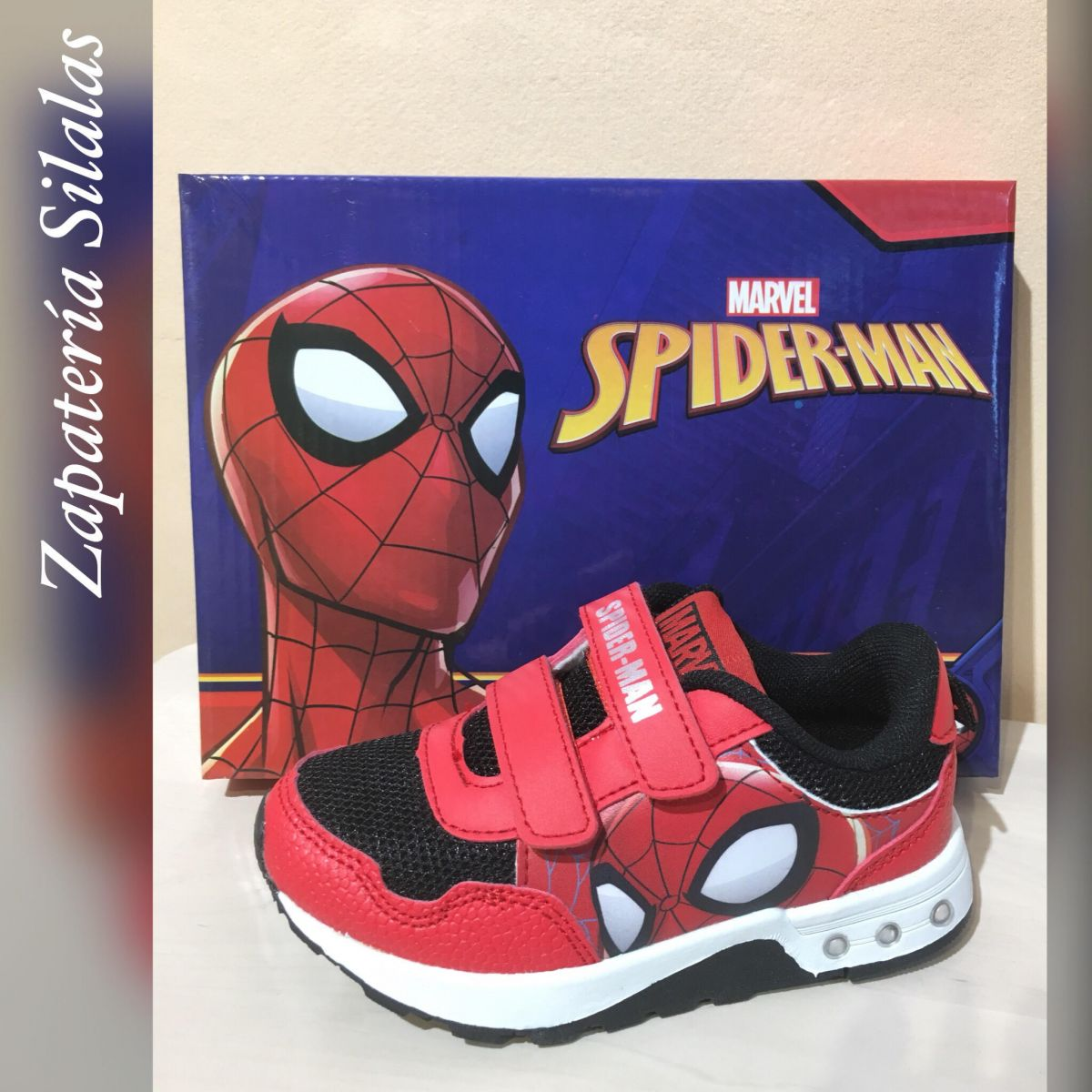 deportivo luces spiderman
