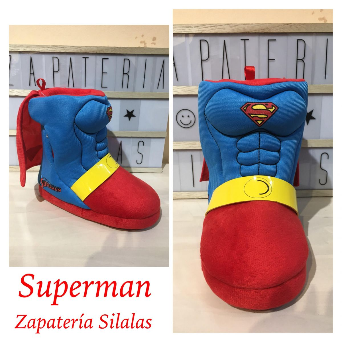 zapatilla superman